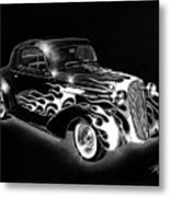 One Hot 1936 Chevrolet Coupe Metal Print