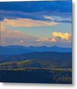 One Hour Before Sunset Metal Print