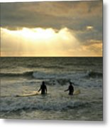 One Last Wave Metal Print by Matt Tilghman