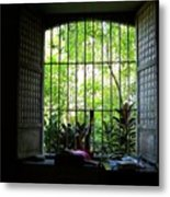 One Lazy Sunday Afternoon By The Window Metal Print