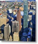 One Logan 1717 Arch Comcast Center Metal Print