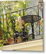 One Morning In New Orleans Metal Print