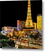 One Night In Vegas Metal Print