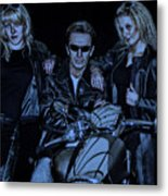 One-non-blond Metal Print