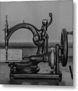 One Of The First Sewing Machines Metal Print