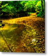One Road Out Metal Print