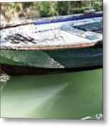 One Small Boat Metal Print