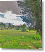 One Stormy Evening Metal Print