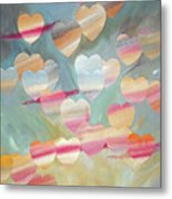 One With The Sky Metal Print