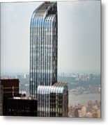 One57 And Park Hyatt Hotel In Nyc Metal Print