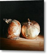 Onions Metal Print