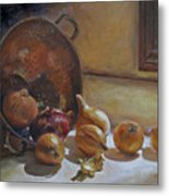 Onions Galore Metal Print