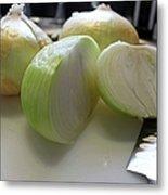Onions I Metal Print
