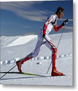 Online Winter Sports Equipment Metal Print