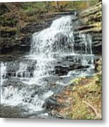 Onondaga 6 - Ricketts Glen Metal Print