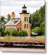Ontonagon Lighthouse Metal Print
