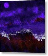 Oocean In The Moonlight  Metal Print