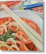 Oodles And Noodles, 2017 Metal Print