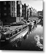 oozells street loop of birmingham canal navigations Birmingham UK Metal Print