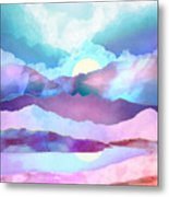 Opal Mountains Metal Print