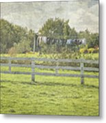 Open Air Clothes Dryer Metal Print