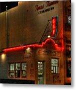 Open All Nite-texas Tavern Metal Print