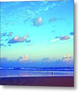 Open Beach Ponce Inlet Atlantic Ocean Metal Print