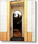 Open Doorway Metal Print