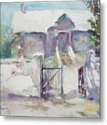 Open Gate Metal Print