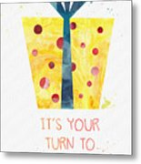 Open Gifts- Card Metal Print
