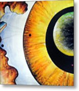 Open Mind. Door To Eternity Metal Print
