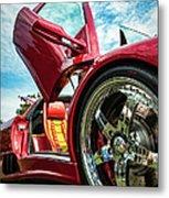 Open Sesame Red - Lamborghini Diablo  Metal Print