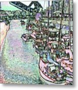 Opening Day Of Boating Metal Print