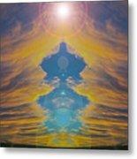 Opening Heavens Metal Print