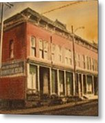 Opera House Philipsburg Montana Metal Print