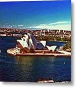 Opera House Sydney Austalia Metal Print