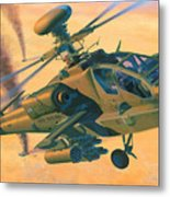 Operation Apache Metal Print