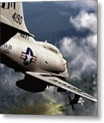 Operation Commando Hunt Metal Print