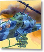 Operation Wolf Metal Print
