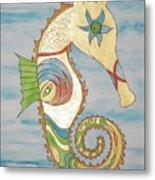 Ophelia The Seahorse Metal Print