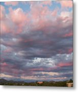 Opposite The Setting Sun Metal Print