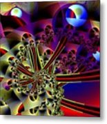 Optic Nerves Metal Print