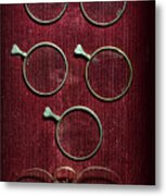 Optician - Optometrist Lens Metal Print