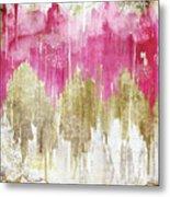 Opulence Rose Metal Print