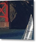 Oracle Racing Team Usa 76 International America's Cup Sailboat . 7d8071 Metal Print
