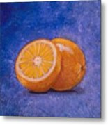 Orange And A Half Metal Print