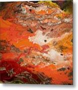 Orange-brown Series No. 3 Metal Print