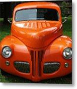 Orange Classic  Metal Print