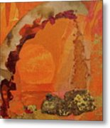 Orange Day Metal Print