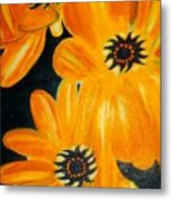 Orange Delight Metal Print